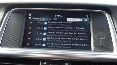 Kia Optima PHEV - infotainment