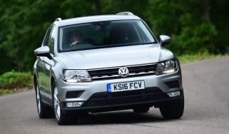Volkswagen Tiguan 2016 - front cornering