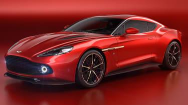 Aston Martin Vanquish Zagato - front quarter