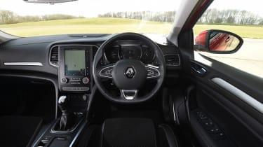 Renault Megane diesel - interior