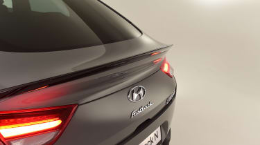 Hyundai i30 Fastback N - rear detail
