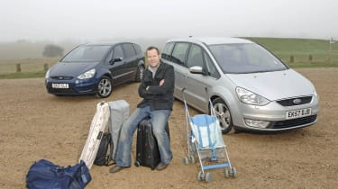 Ford S Max Vs Ford Galaxy Auto Express