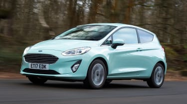 Ford Fiesta long term test - first report front