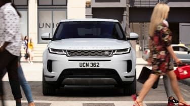 New Range Rover Evoque - white full front