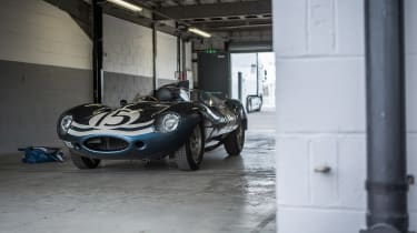 Jaguar D-Type Goodwood Festival of Speed