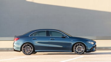 Mercedes-AMG A 35 Saloon - side static