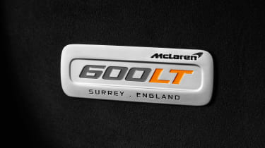 McLaren 600LT - badge