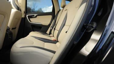 Volvo XC60 D3 DRIVe rear seats