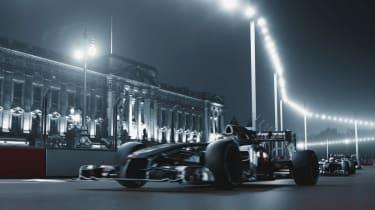 London Grand Prix CGI video