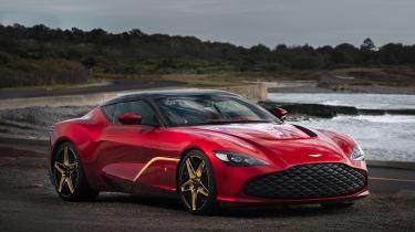 Aston Martin DBS GT Zagato - front