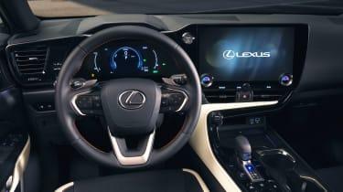 Lexus NX - dash