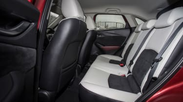 Mazda CX-3 - rear seats