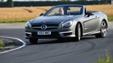 Mercedes SL63 AMG front
