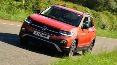 Volkswagen T-Cross Black Edition - front action