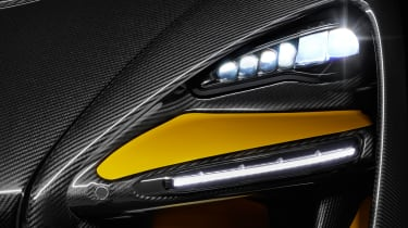 McLaren Senna Carbon Theme - headlight
