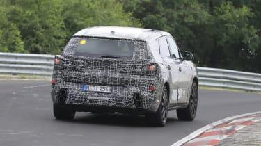 BMW X8 - 2021 spyshot 7