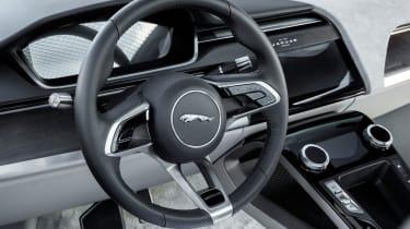Jaguar I-Pace prototype 2017 - interior 2