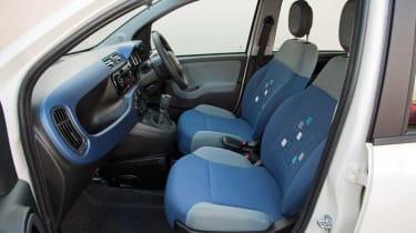 Fiat Panda front seats
