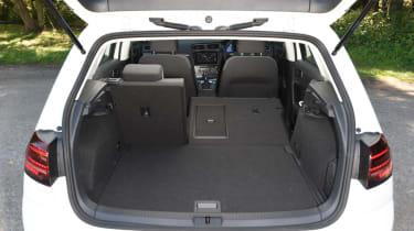 Long-term test - VW e-golf -  boot