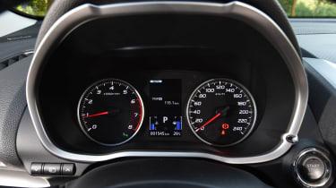 Mitsubishi Eclipse Cross - dials