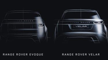 Range Rover Evoque vs Range Rover Velar