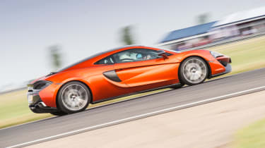 McLaren 570GT long term second report - side action