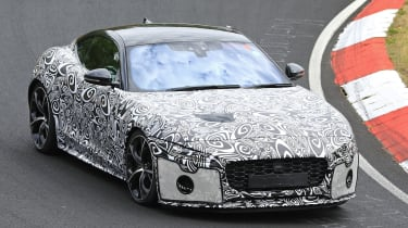Jaguar F-Type - spied - front cornering