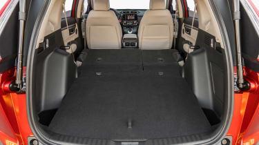 New Honda CR-V - boot seats down
