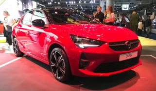 Vauxhall Corsa - Frankfurt front