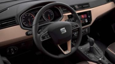 2017 SEAT Ibiza leaked pic interior