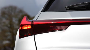 Lexus UX - rear lights