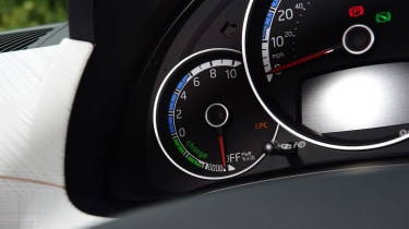 SEAT Mii electric UK - dials