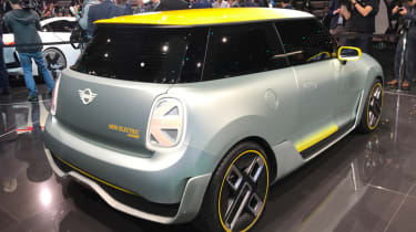 2019 MINI Electric Concept Frankfurt - rear