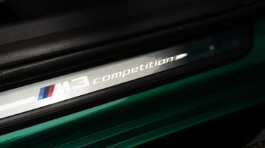BMW M3 Competition - sill