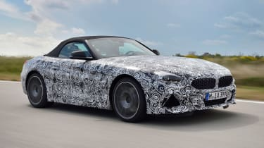 BMW Z4 prototype - front roof up
