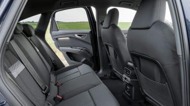 Audi Q4 e-tron Sportback - rear seats