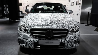 Mercedes E-Class tech - nose