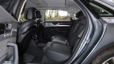 Rear seat space is generous even in the short-wheelbase version - in the long-wheelbase it's cavernous.