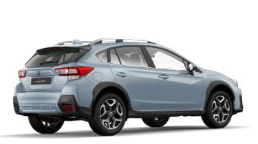 Subaru XV revealed in Geneva rear