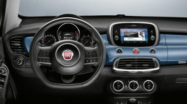 Fiat 500x Mirror special edition 2018