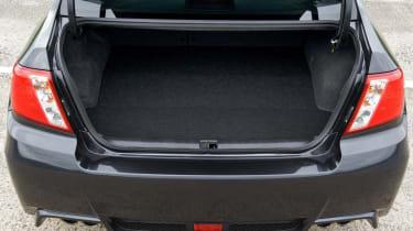 Subaru WRX STi saloon boot