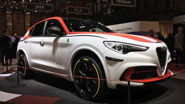 Alfa Romeo Stelvio Quadrifoglio F1 Edition - Geneva front