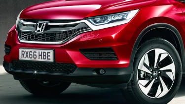 New Honda CR-V - exclusive image - front detail
