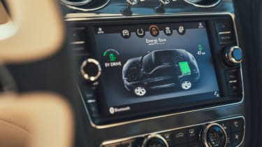 Bentley Bentayga PHEV - infotainment