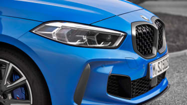 New BMW M135i 2019 1 Series nose