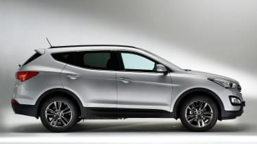 Used Hyundai Santa Fe - side
