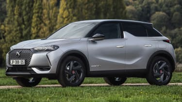 DS 3 Crossback E-Tense -  front 3/4 static