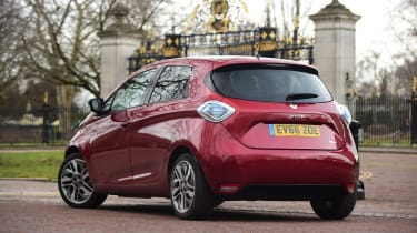 Renault ZOE - rear static