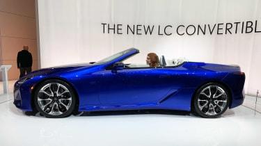 Lexus LC 500 Convertible - Los Angeles side