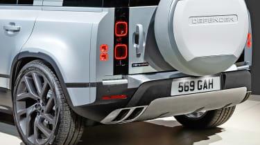 Land Rover Defender SVR - rear detail